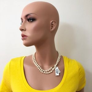 Monet Classic Pearl Necklace